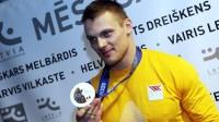 Olimpiskais vicečempions Daumants Dreiškens  Foto: www.la.lv