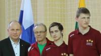 Gvido Cvetkovs (pa labi)  Foto: Andris Krieķis, eyl.kriekis.eu