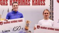 Sindija Bukša un Gunta Latiševa-Čudare Foto: Mareks Gaļinovskis, athletics.lv