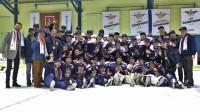 """Junioru līgā turpinās spēlēt gan tās čempione """"Venta 2002"""", gan pārējās līdzšinējās 1. līgas komandas Foto: Aivars Ķesteris, ventasbalss.lv"""