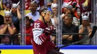 Andris Džeriņš  Foto: IIHF