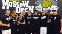"""""""Rīga Ghetto Basket"""" un """"Mārupe LSA"""" komandas turnīrā Maskavā Publicitātes foto"""