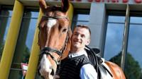 Rihards Snikus ar zirgu King Of The Dance Foto: Latvijas Paralimpiskā komiteja