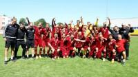 Latvijas U19 izlase Foto: LFF