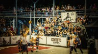 """Ghetto Basket"" spēle"