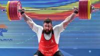 Šī brīža pasaules spēcīgākais svarcēlājs un olimpiskais čempions Laša Talahadze (Gruzija). Foto: AFP/Scanpix