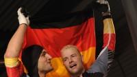 Kevins Kuske un Andrē Lange Foto: AFP/Scanpix