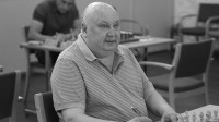 Aloizs Kveinis jūlijā turnīrā Liepājā Foto: Latvijas Šaha federācija