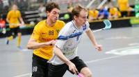 Kristiāns Miezītis (#9) Foto: Floorball.lv