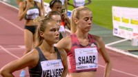 Līga Velvere un Linsija Šārpa  Foto: Atletica Italiana