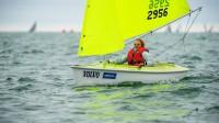 Līga Liepiņa pasaules čempionātā. Foto: World Sailing