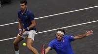 Novaks Džokovičs un Rodžers Federers. Foto: AP/Scanpix