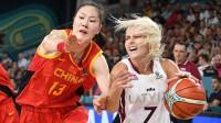 Elīna Dikeulaku spēlē pret Ķīnu. Foto: Romāns Kokšarovs, f64