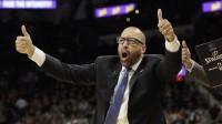 """""""Knicks"""" galvenais treneris Deivids Fizdeils, Foto: AP / Scanpix"""
