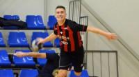 Rihards Leja. Foto: Handball.lv