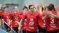 """Juris Gribusts aizvadījis rezultatīvāko spēli kopš atgriezies """"Lielvārde/FatPipe"""" Foto: Floorball.lv"""