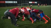 Latvijas regbija izlases treniņš pirms spēles ar Somiju. Foto: Zigismunds Zālmanis (LRF)