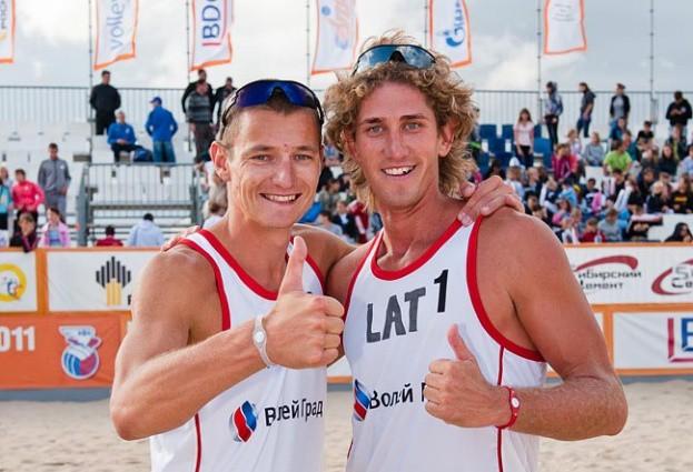 Foto: Pļaviņš un Samoilovs triumfē Krievijas kausa izcīņā
