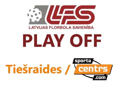 """Virslīgas """"play-off"""". Visu spēļu tiešraides tikai Sportacentrs.com"""