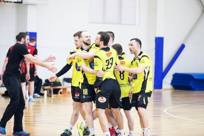 Latvijas Olimpiādes handbola turnīrā triumfē gan Dobeles vīri, gan dāmas