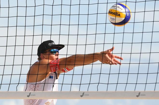 Latvijas pludmales volejbolisti uzzina pretiniekus Maskavas turnīrā