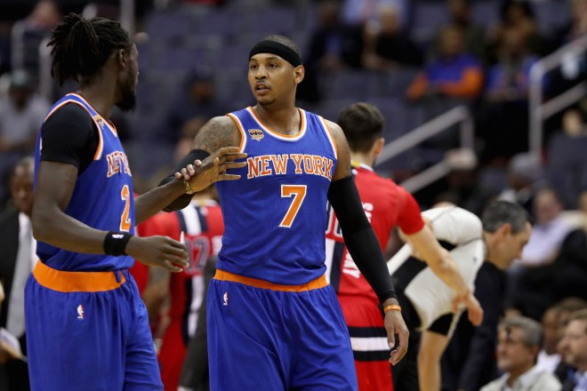 """Knicks"" atlaiž spēka uzbrucēju Ndūru"