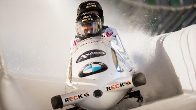 Bērziņa pilotētajam bobsleja četriniekam 20.vieta Eiropas kausa posmā