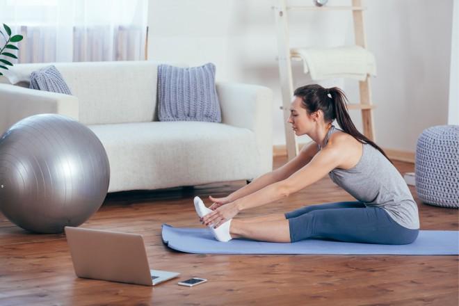 Sporto mājās, un Tev nebūs nepieciešams aizdevums fizioterapeitu apmeklējumiem