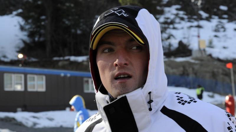 """Jānis Miņins. Foto: Romāns Kokšarovs, """"Sporta Avīze"""", f64"""
