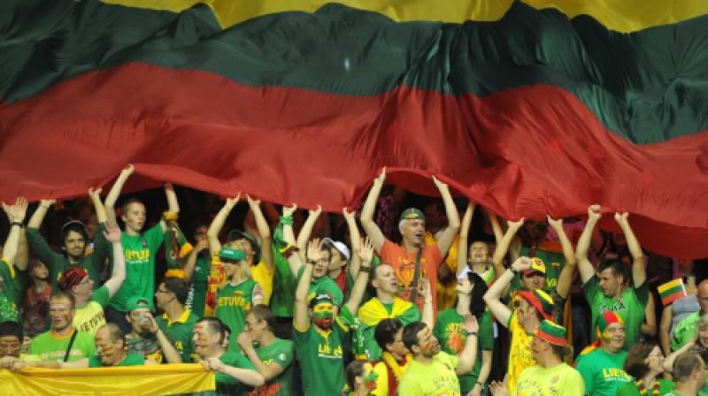 Lietuvas U-19 izlases līdzjutēji Foto: f64