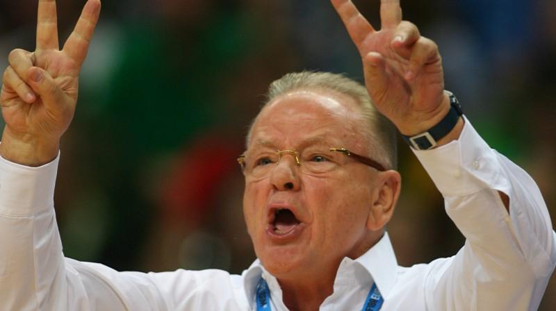 Serbijas izlases galvenais treneris kopš 2009. gada - Dušans Ivkovičs  Foto: AFP/Scanpix