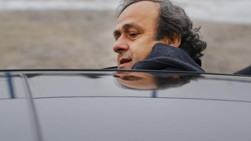 Mišels Platinī. Foto: AP/Scanpix