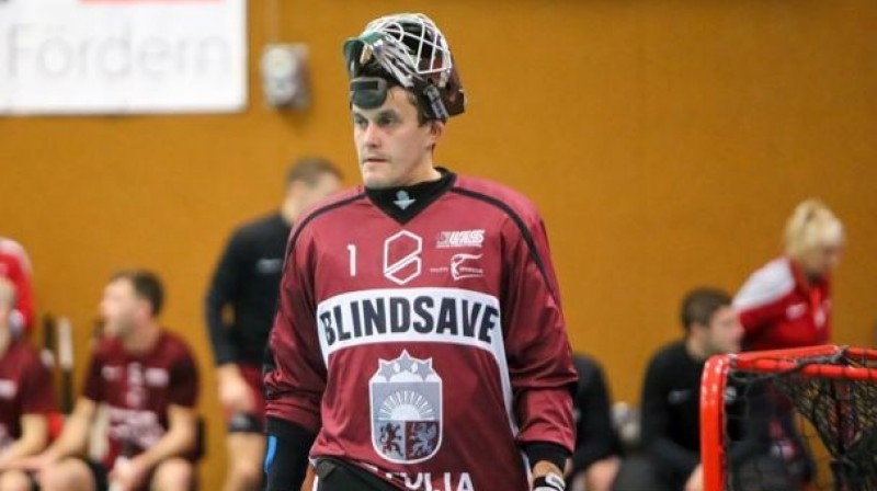 Andis Blinds  Foto: Ritvars Raits, floorball.lv