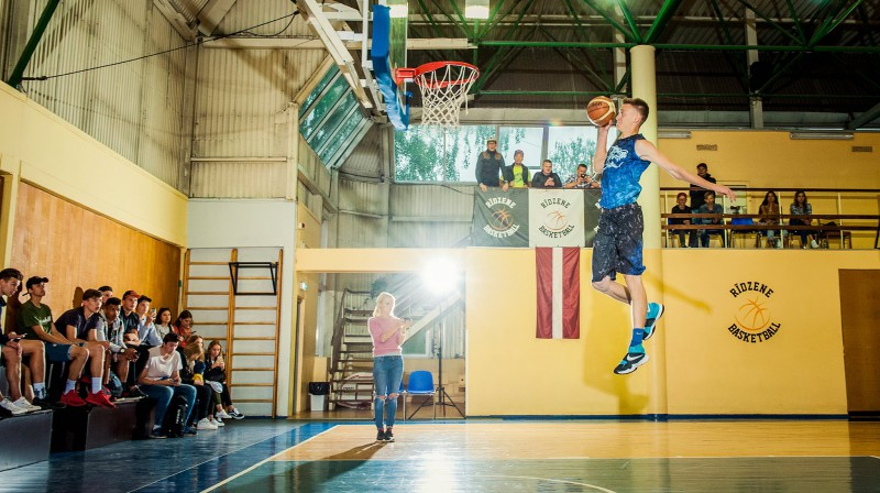 """Areks Pšibiliskis """"danko"""" Rīgā, """"Rīdzenes"""" sporta zālē Publicitātes foto"""