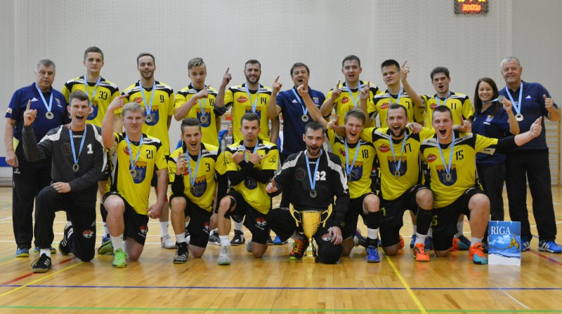 "2017. gada Rīgas čempioni ""Tenax"" Foto: Romualds Vambuts"