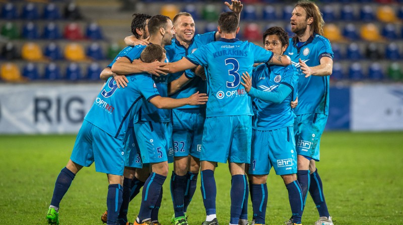 """Riga FC"" Foto: Zigismunds Zālmanis / rigafc.lv"