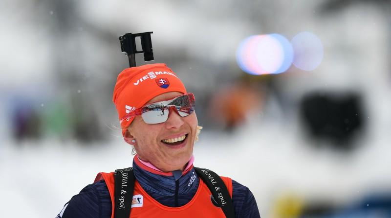Anastasija Kuzmina. Foto: Sputnik/Scanpix