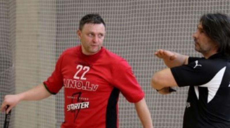 Sergejs Aleksandrovs Foto: Floorball.lv