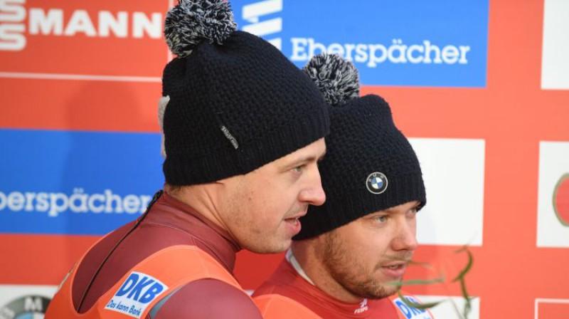 Andris un Juris Šici. Foto: Romāns Kokšarovs/F64