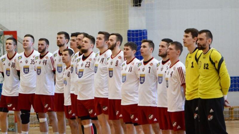 """Tenax"" handbolisti. Foto: Latvijas Handbola federācija"