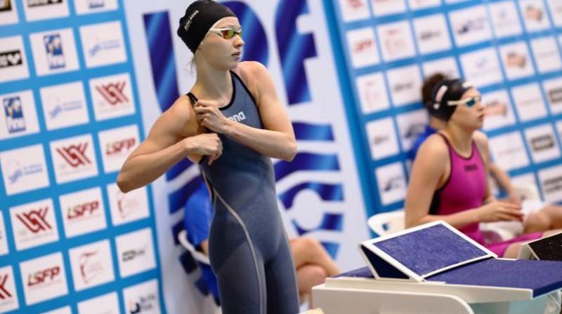 Gabriela Ņikitina. Foto: swimming.lv