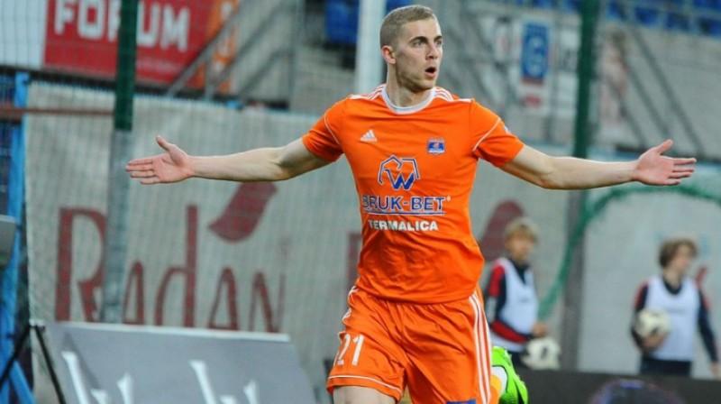 Vladislavs Gutkovskis. Foto: termalica.brukbet.com