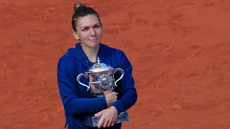 Simona Halepa Foto: Reuters/Scanpix