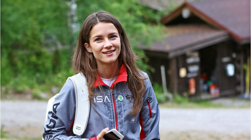 Sandra Grosberga. Foto: Gintaras Šiuparys