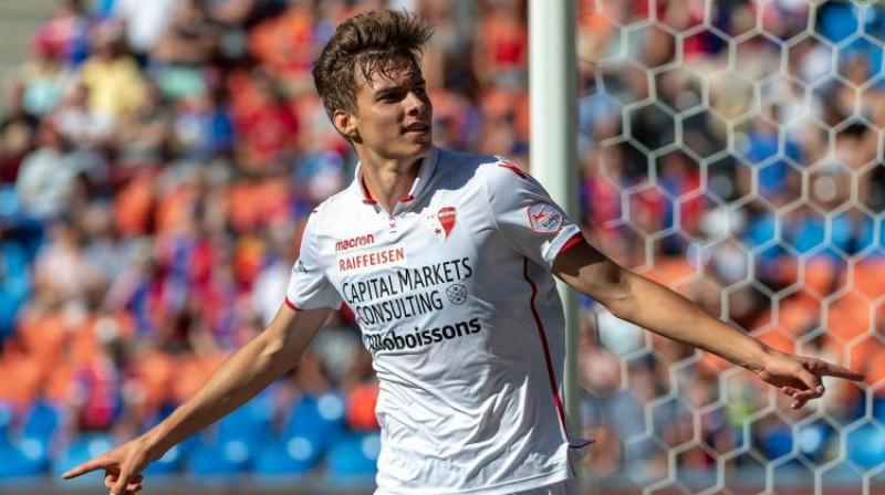 Roberts Uldriķis. Foto: FC Sion/Keystone