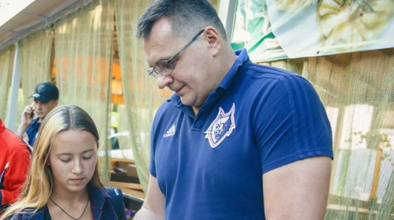 Andrejs Nazarovs. Foto: HC Neftekhimik