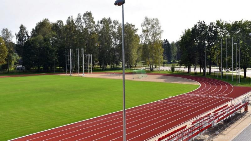 Baldones stadions. Foto: Elīna Ose