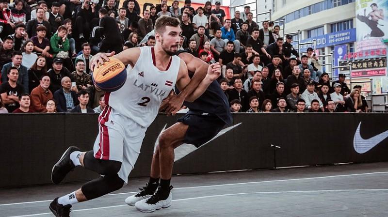 Armands Ginters. Foto: FIBA