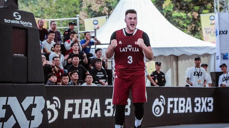Nils Ozoliņš. Foto: FIBA