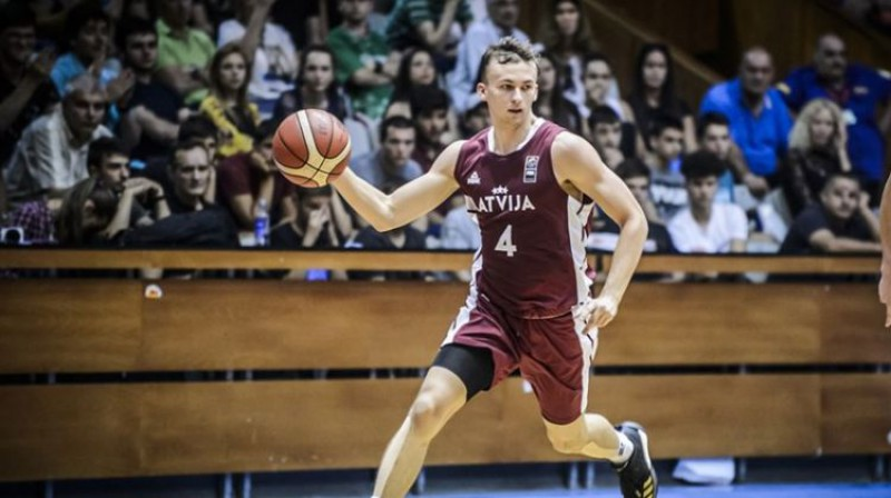 Kristers Zoriks. Foto: FIBA